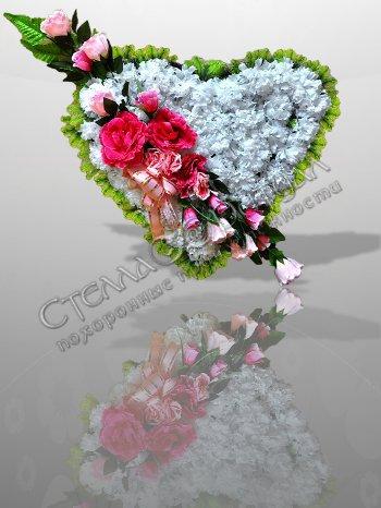 Цветы для ритуальных венков оптом